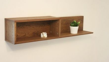 Olten Dark Oak Wall Shelf